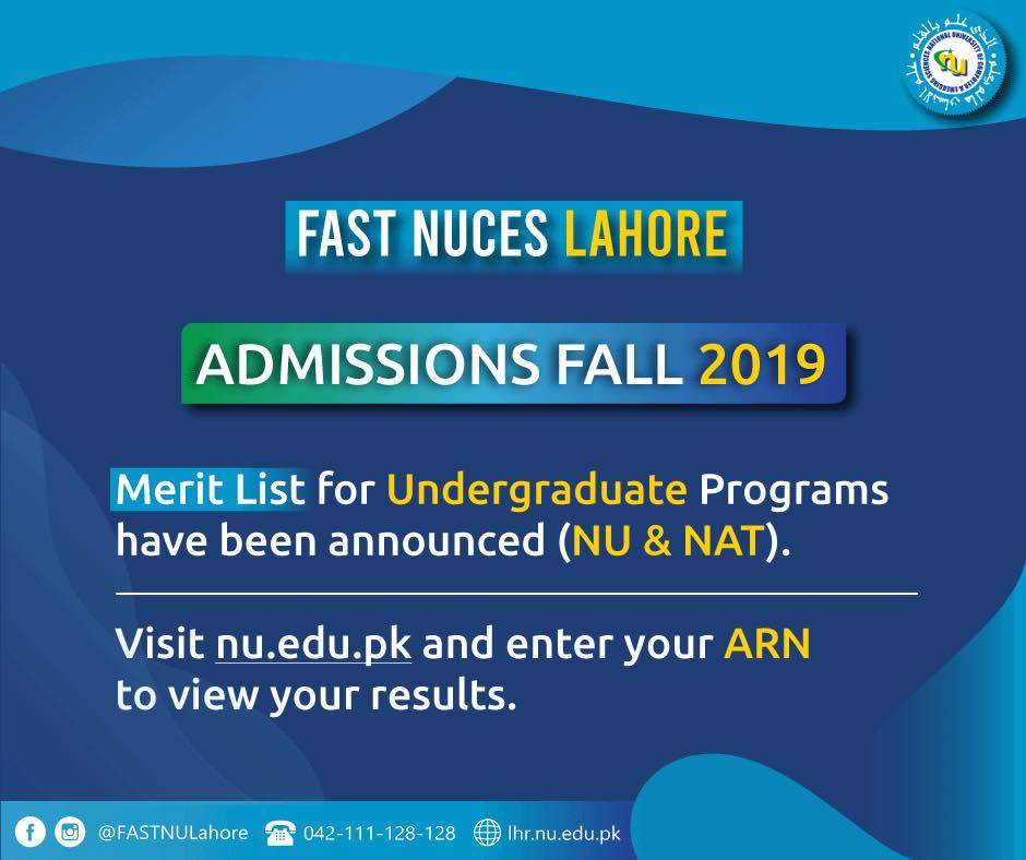 FAST NUCES Lahore - Home